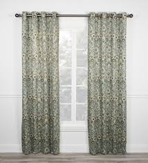 Cherry Blossom Curtain Panels by Adelle Medallion Print Curtains Collection Window Toppers