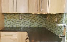 kitchen backsplash light green subway tile modern backsplash