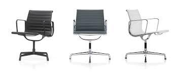 100 Huizen Furniture Vitra Aluminium Chairs EA 105107108