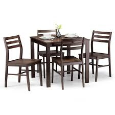 Dining Set - Monterey Walnut Dining Table And 4 Dining Chairs MON301 Simmons Upholstery 500959 Heirloom Fniture Black Walnut Ding Table Bentley Designs Lyon Extending Table 6 Oiive Grey Leather Chairs Costco Uk Royce Set B 14 Camel Group Nostalgia Round Extension Starburst Dark Tables Custmadecom And Chairs Chair By Svegards Of America Argos Ava With 4 In Bucksburn Aberdeen Gumtree To Solid Jupe Hidden Leaves