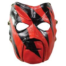 Beavis And Butthead Halloween Mask by Wwe Kane Deluxe Mask Wrestling Officially Licensed Costume