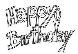 F 61 Happy Birthday Free