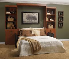 Bestar Wall Beds by Night And Day Furniture Sagebrush Murphy Cabinet Stonewash With