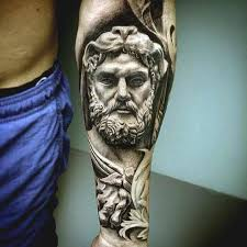Famous Portrait Inner Forearm Tattoo Ideas For Boys