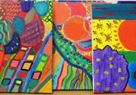 Abstract Art Ideas For Beginners Gorgeous In Grade Seven Alejandra Chavez I Love My