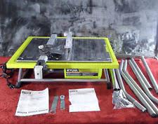 ryobi zrws722 7 inch portable wet tile saw ebay
