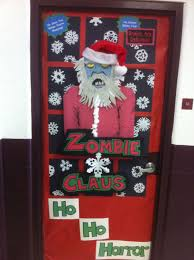 Christmas Classroom Door Decorations On Pinterest by Christmas Door Decorating Contest Santa