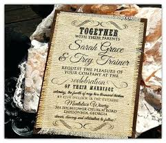 Burlap Wedding Invitations Uk Sets Diy Rustic