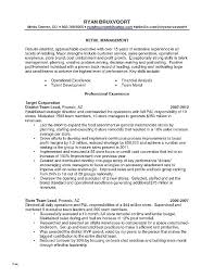 Sample Resume For Retail Jobs No Experience Elegant Management Template Lovely New Sales