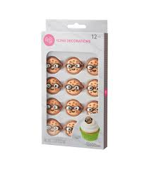 Nerdy Nummies Halloween Cupcakes by Rosanna Pansino By Wilton 12ct Nerdy Nummies Icing Decorations Joann