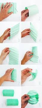 Origami Lamp Shade Instructions Paper Wrinkles Steuerwagen Pastels