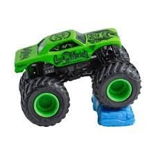 Obral Hot Wheels Monster Jam Crushstation Truck Re-Crushable Car ...