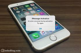 iMessage Not Working in iOS 11 10 9 or 8 on iPhone How to Fix