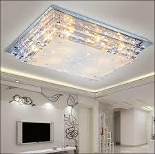 modern minimalist ceiling light e27crystal led ceiling light for