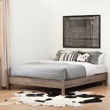 Brusali Bed Frame by Brilliant South Shore Munich Platform Bed Queen Brown Beds Bed