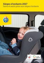 tcs siege auto brochure sièges d enfants tcs suisse