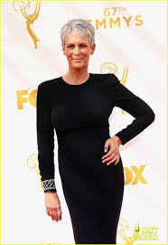 Jamie Lee Curtis Halloween 2017 by Jamie Lee Curtis U0026 Lily Tomlin Don All Black To The Emmys Photo