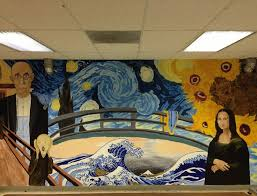 Most Famous Mural Artists by Love This Mural Idea Great For The Art Room I Can Paint You