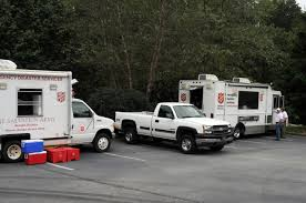 100 Salvation Army Truck Trucks At Carroll County Disaster Recovery Center