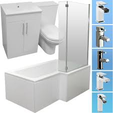 L Shaped Bathroom Vanity Unit by Bathroom Vanity Units 200mm Deep