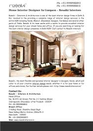 100 Home Interior Decorator PPT Designer In Gurgaon
