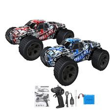 100 Monster Trucks Rc High Speed 120 30kmH Remote Control Car RC Electric Truck
