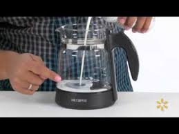Mr Coffee Cafe Latte Home Brewer