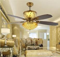 2018 remote ceiling fans 52inch luxury decoration