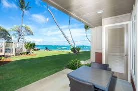 Bull Shed Kauai Happy Hour by Watch Waves Lanai To Lawn Modern Kitchen Private Den Wifi Ac