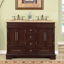 48 Inch Double Sink Vanity White by Bathroom Elegant Double Sink Bathroom Vanities For Bathroom