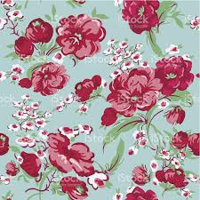 Vintage Floral Background Seamless Pattern Stock Vector Art More
