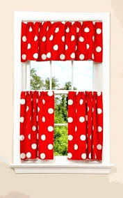 Amazon Red Kitchen Curtains by Enchanting Red Black White Kitchen Curtains U2013 Muarju