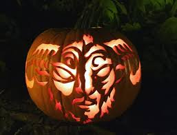 Pumpkin Head 2017 by The Nun Director Is Carving A Halloween Pumpkin Every Day This Month