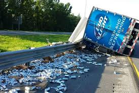 19 Highly Unusual Truck Spills | Mental Floss Bud Light Sterling Acterra Truck A Photo On Flickriver Teams Up With The Pladelphia Eagles For Super Promotion Lil Jon Prefers Orange And Other Revelations From Beer Truck Stuck Near Super Bowl 50 Medium Duty Work Info Tesla Driver Fits 1920 Cans Of In Model X Runs Into Bud Light Budweiser Youtube Miami Beach Guillaume Capron Flickr Page Everysckphoto 2016 Series Truckset Cws15 Ad Racing Designs Rare Vintage Bud Budweiser Delivers Semi Sign Tin Metal As Soon As I Saw This Knew Had T