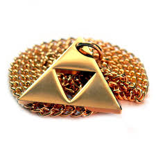 Zelda Triforce Lamp Uk by Legend Of Zelda Triforce Necklace Zos Co Amazon Co Uk Jewellery