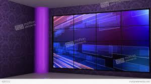 News 16 Virtual Green Screen Background Loop Stock Video Footage
