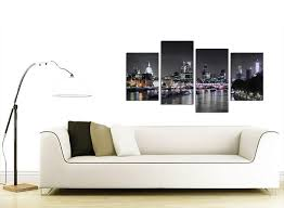 Canvas Wall Art For Dining Room by Amazon Com Wallfillers Canvas Wall Art Of London Skyline For Your