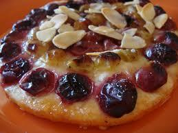dessert aux raisins frais schacciata des vendanges tarte au sucrée aux raisins frais