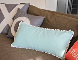 Easy Pom Pom Pillow Tutorial View From The FridgeView From The