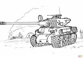 Army Tank Coloring Pages For Kids 134