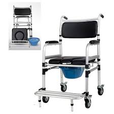 Wheelchair, Portable Aluminum Shower Chair/Commode Chair, Folding Toilet  Seat, With Casters, Medical Aids Obstacles Bonas Meeting Room Mesh Folding Chair Traing Stackable Conference Chairs With Casters Buy Cheap Chairsoffice Visitor Chair With Armrests On Casters Tablet Gunesting Contemporary Visitor Stackable Amazoncom Office Star Deluxe Progrid Breathable Back Freeflex Coal Seat Armless 2pack Titanium Finish Kfi Seating Poly Stack 300lbs Alinum Mobile Shower Toilet Commode Smith System Uxl Httpswwwdeminteriorscom Uniflex Four Leg Artcobell Transportwheelchair Ergonomic High Executive Swivel