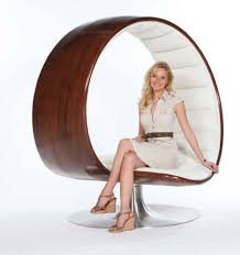 Unique Comfortable Spiral Shaped Chair. | Houses,