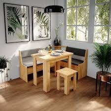 vicco sitzbank küchenbank eiche eckteil sitzecke gepolstert ablagen eckbank küche kaufen otto