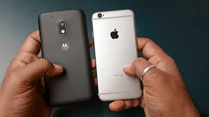 Moto G4 Play vs iPhone 6 Crazy parison