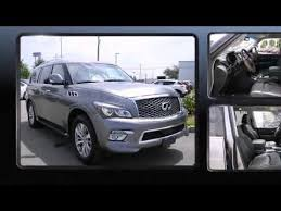 Luxury Suv With Second Row Captain Chairs by 2015 Infiniti Qx80 W Nav U0026 2nd Row Captains Chairs Youtube