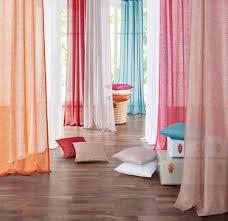 gardine my home schlaufen 2 stück vorhang fertiggardine transparent