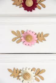 Pink Flower Dresser Knobs by Flower Knob For A Blooming Nursery U2022 Wawomb