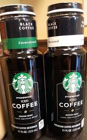 Starbucks Lightly Sweetened Iced Coffee 1 Bottled Black And Unsweetened