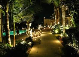 led lighting outdoor accent landscape lighting installation hommum
