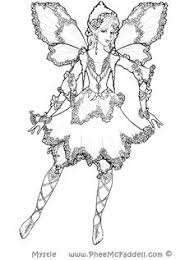 Mystie Fairy Coloring Page